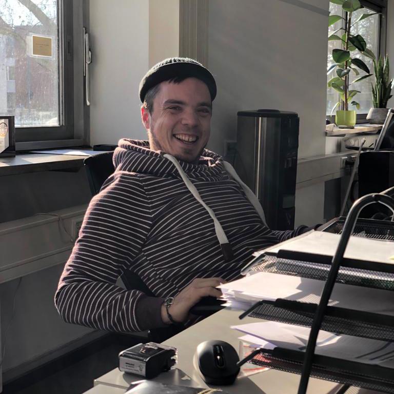 Philipp, Mitarbeiter von FlexHero