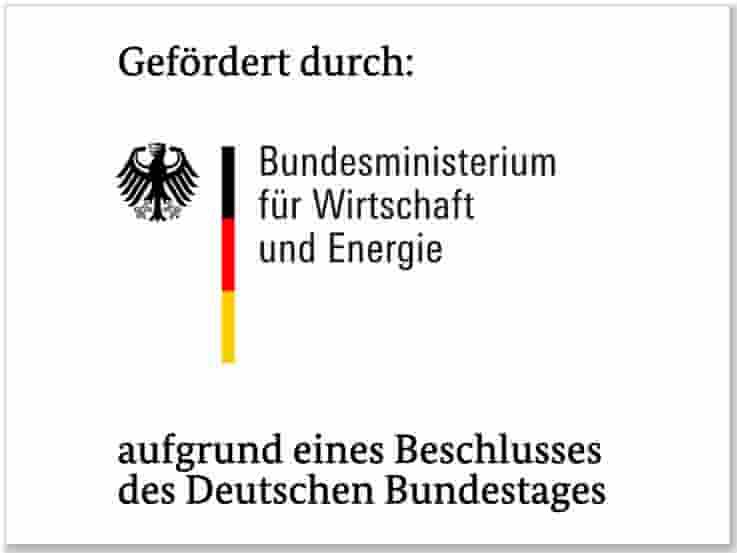 Förderinstitution Bundesministerium für Wirtschaft und Energie