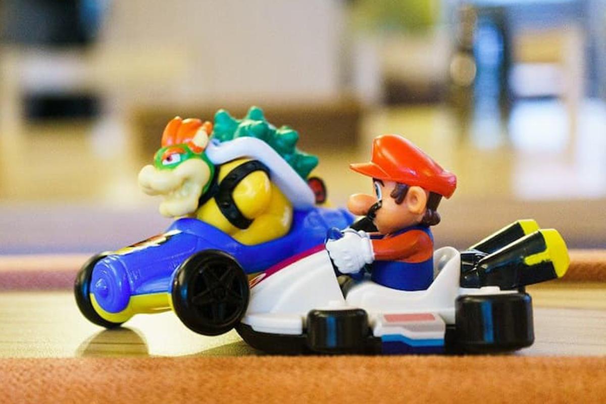Mario Kart Unfall als Symbol für einen Unfall im Ehrenamt