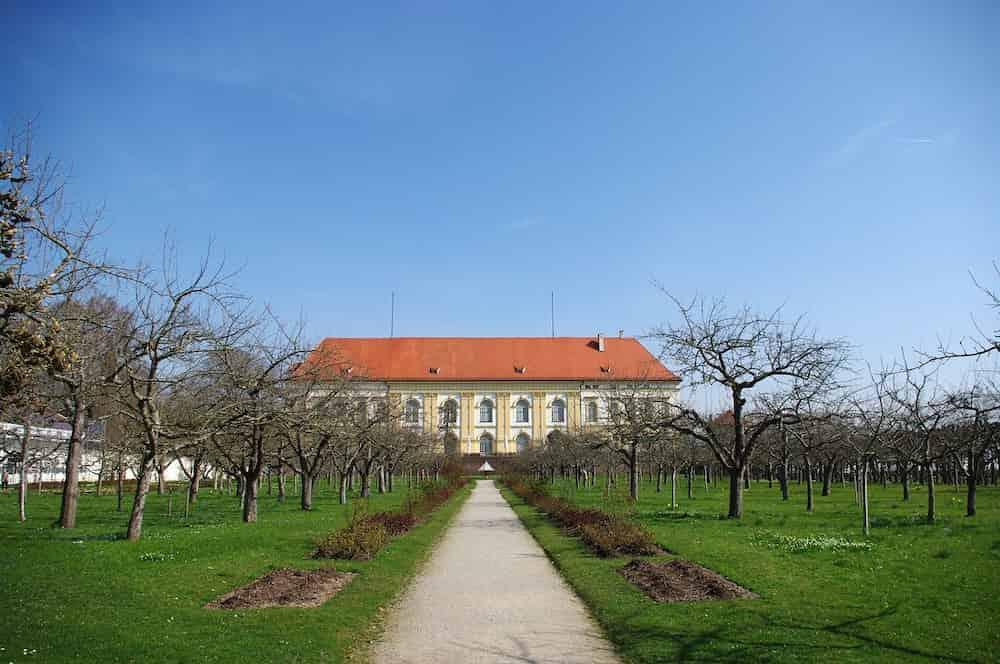 Schloss Dachau mit Promenade