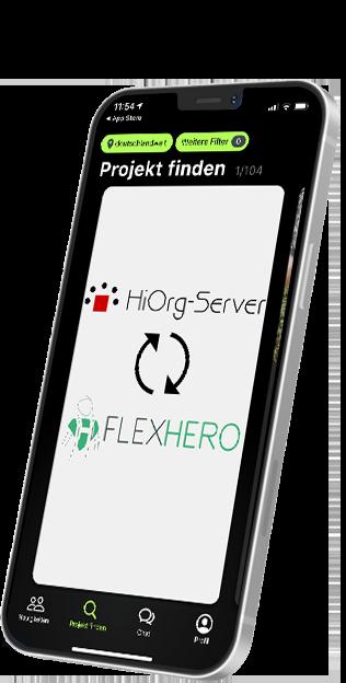 Schnittstelle zu HiOrg-Server in der FlexHero App