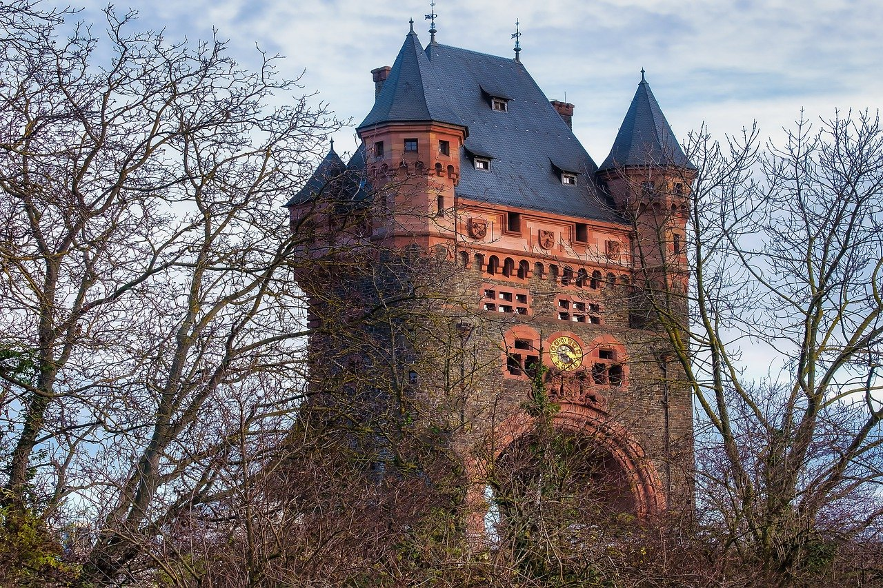 Nibelungenturm in Worms am Rhein