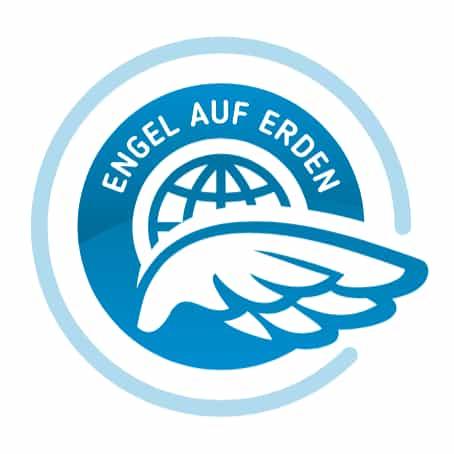 Logo Engel auf Erden
