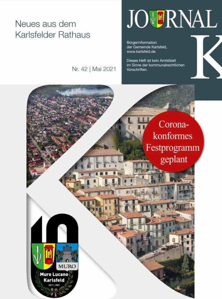 Titelseite des Journal K in Karlsfeld