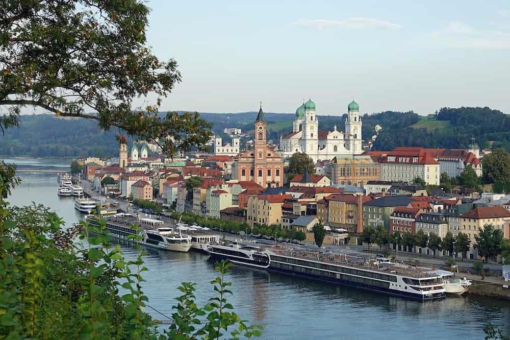 Die Stadt Passau als Symbolbild für das Ehrenamt in Passau