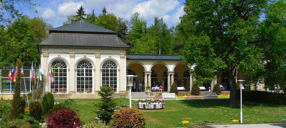 Kurpark Bad Steben im Landkreis Hof